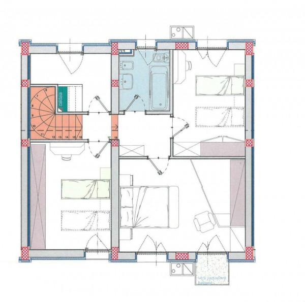 Villa in vendita a Borghetto Lodigiano, Residenziale, Con giardino, 162 mq - Foto 2