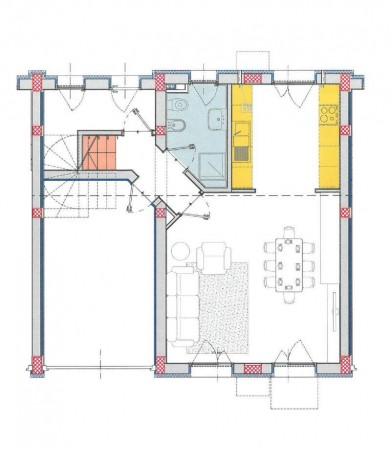 Villa in vendita a Borghetto Lodigiano, Residenziale, Con giardino, 162 mq - Foto 3