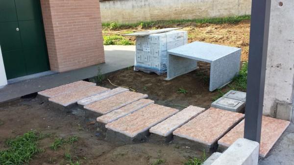Villetta a schiera in vendita a Borghetto Lodigiano, Residenziale, Con giardino, 162 mq - Foto 34
