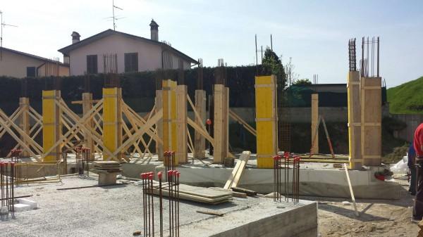 Villetta a schiera in vendita a Borghetto Lodigiano, Residenziale, Con giardino, 162 mq - Foto 11