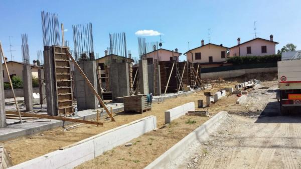 Villetta a schiera in vendita a Borghetto Lodigiano, Residenziale, Con giardino, 162 mq - Foto 23