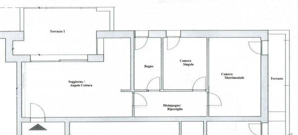 Appartamento in vendita a Padova, Crocefisso, Con giardino, 85 mq - Foto 2