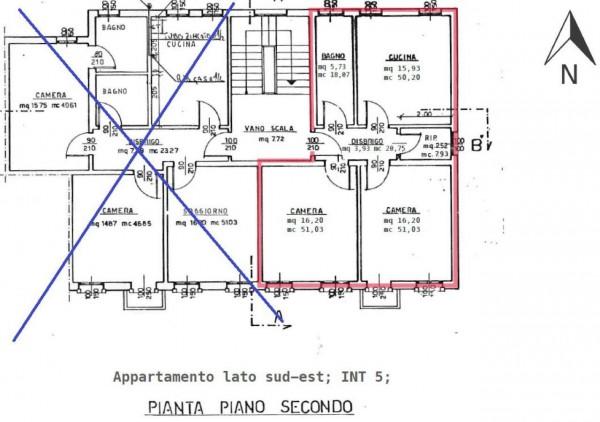 Appartamento in vendita a Padova, Sacra Famigli, Arredato, con giardino, 70 mq - Foto 3