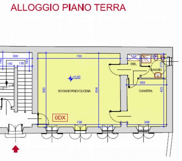 Appartamento in affitto a Rivalta di Torino, Con giardino, 70 mq - Foto 14