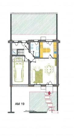 Villetta a schiera in vendita a Melegnano, Residenziale A 20 Minuti Da Melegnano, Con giardino, 162 mq - Foto 3