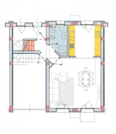 Villetta a schiera in vendita a Melegnano, Residenziale A 20 Minuti Da Melegnano, Con giardino, 162 mq - Foto 5
