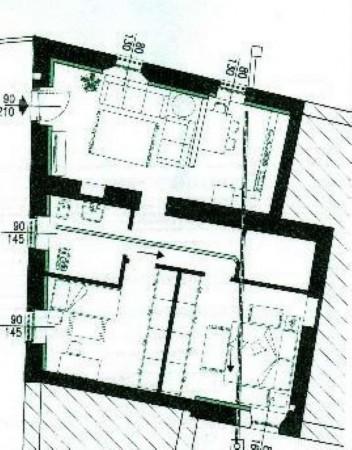Appartamento in affitto a Albairate, Centro, 85 mq - Foto 2