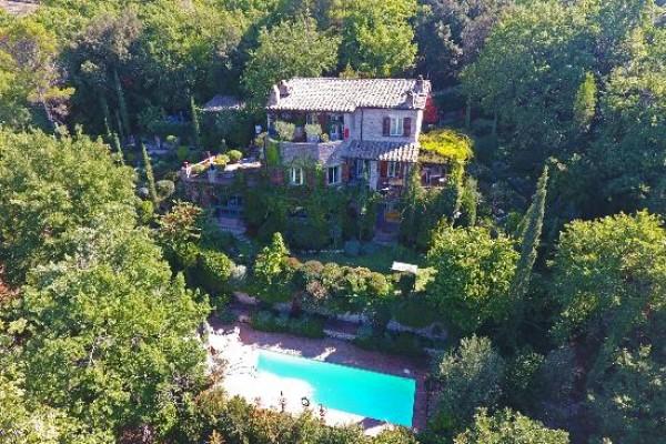 Villa in vendita a Campello sul Clitunno, Con giardino, 170 mq - Foto 21