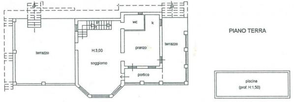 Villa in vendita a Campello sul Clitunno, Con giardino, 170 mq - Foto 4