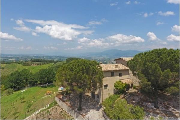 Rustico/Casale in vendita a Spoleto, A 4 Km Da Spoleto, Con giardino, 120 mq - Foto 5