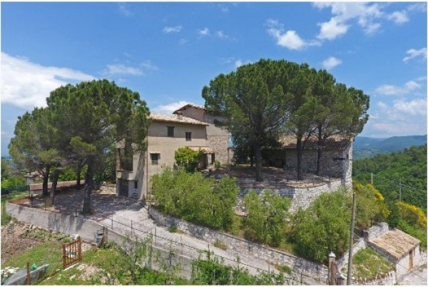 Rustico/Casale in vendita a Spoleto, A 4 Km Da Spoleto, Con giardino, 120 mq - Foto 4