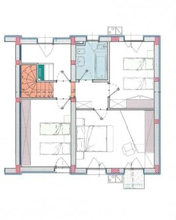 Villa in vendita a Borghetto Lodigiano, Residenziale, Con giardino, 171 mq - Foto 2
