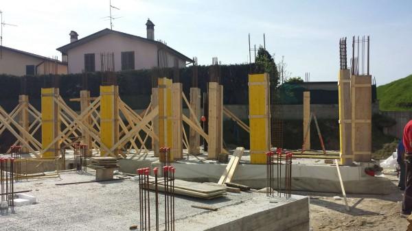 Villetta a schiera in vendita a Borghetto Lodigiano, Residenziale, Con giardino, 171 mq - Foto 34