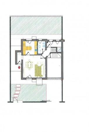 Villetta a schiera in vendita a Lodi, Residenziale A 10 Minuti Da Lodi, Con giardino, 172 mq - Foto 5