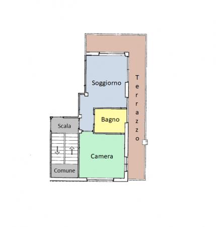 Appartamento in vendita a Spello, Centro, 50 mq - Foto 8