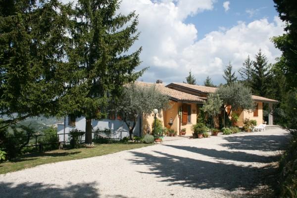 Villa in vendita a Spoleto, A 4 Km Da Spoleto, Con giardino, 220 mq - Foto 11