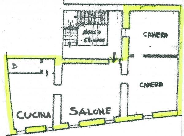 Appartamento in vendita a Spoleto, Centro Storico, 132 mq