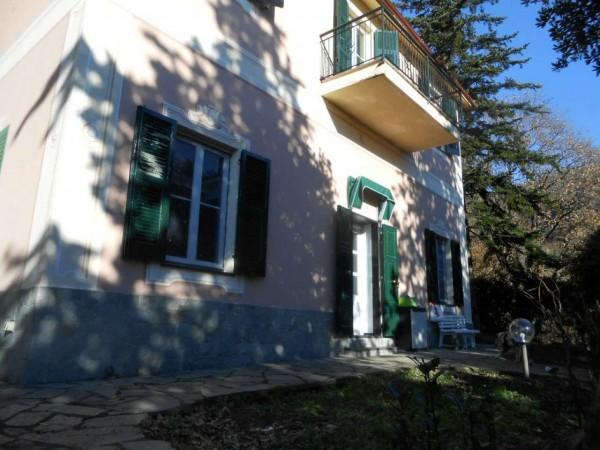 Casa indipendente in vendita a Genova, Adiacenze Via Serra Di Bavari, Con giardino, 140 mq - Foto 16