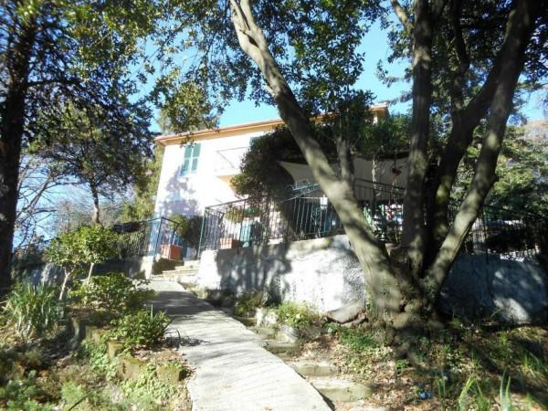Casa indipendente in vendita a Genova, Adiacenze Via Serra Di Bavari, Con giardino, 140 mq - Foto 8