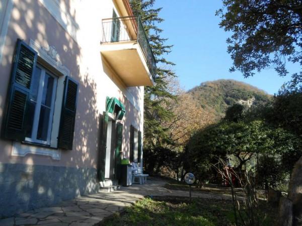 Casa indipendente in vendita a Genova, Adiacenze Via Serra Di Bavari, Con giardino, 140 mq - Foto 15