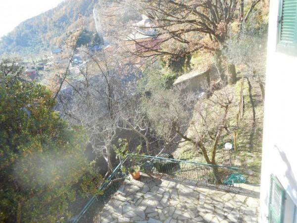 Casa indipendente in vendita a Genova, Adiacenze Via Serra Di Bavari, Con giardino, 140 mq - Foto 10