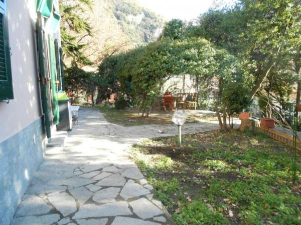 Casa indipendente in vendita a Genova, Adiacenze Via Serra Di Bavari, Con giardino, 140 mq - Foto 17