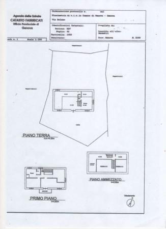 Casa indipendente in vendita a Genova, Adiacenze Via Serra Di Bavari, Con giardino, 140 mq - Foto 2