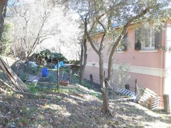 Casa indipendente in vendita a Genova, Adiacenze Via Serra Di Bavari, Con giardino, 140 mq - Foto 18
