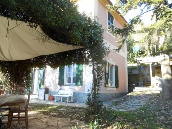 Casa indipendente in vendita a Genova, Adiacenze Via Serra Di Bavari, Con giardino, 140 mq - Foto 40