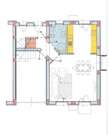 Villetta a schiera in vendita a Melegnano, Residenziale A 20 Minuti Da Melegnano, Con giardino, 171 mq - Foto 3
