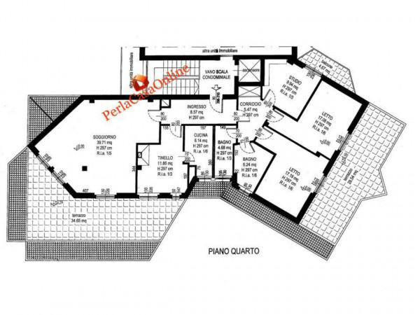 Appartamento in vendita a Forlì, Medaglie D'oro, Con giardino, 200 mq - Foto 4