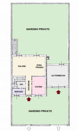 Villa in vendita a Mariano Comense, Con giardino, 230 mq - Foto 5