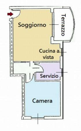 Appartamento in vendita a Lissone, Ospedale, 55 mq - Foto 2