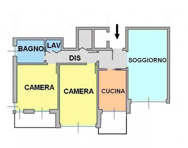 Appartamento in vendita a Monza, Centro, Con giardino, 108 mq - Foto 23