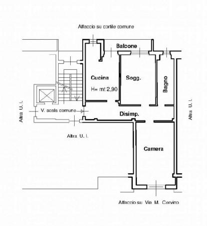 Appartamento in vendita a Monza, Triante, 80 mq - Foto 2