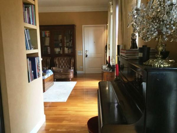 Appartamento in vendita a Monza, Centro Storico, Arredato, con giardino, 140 mq - Foto 14