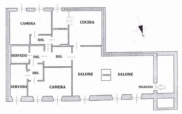 Appartamento in vendita a Monza, Centro Storico, Arredato, con giardino, 140 mq - Foto 2