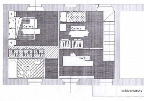 Appartamento in vendita a Monza, Triante, 106 mq - Foto 2