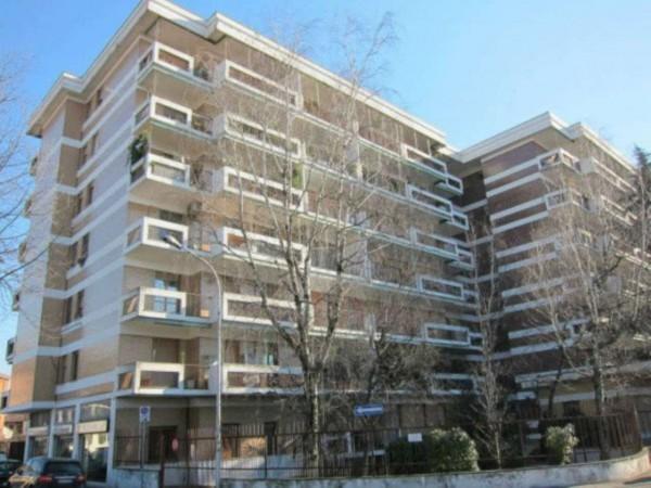 Appartamento in vendita a Monza, S. Biagio, Con giardino, 110 mq