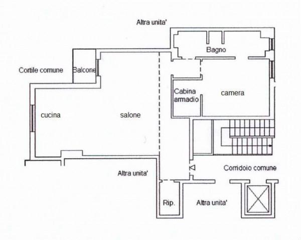 Appartamento in vendita a Monza, S. Carlo, Con giardino, 85 mq - Foto 2