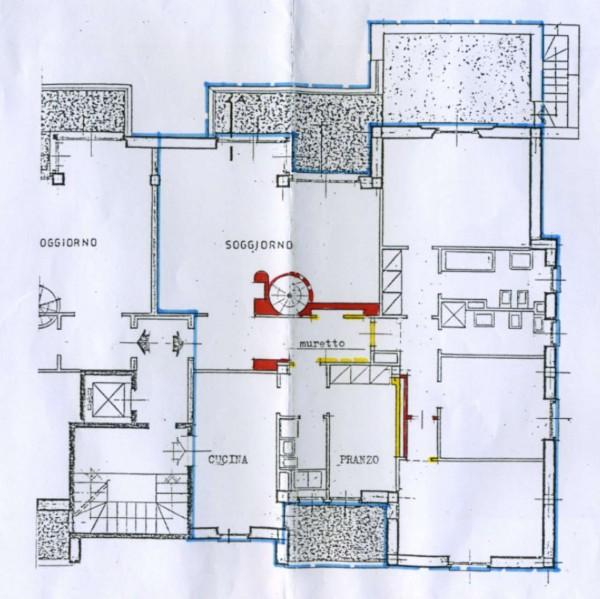 Appartamento in vendita a Monza, San Fruttuoso, Con giardino, 235 mq - Foto 3