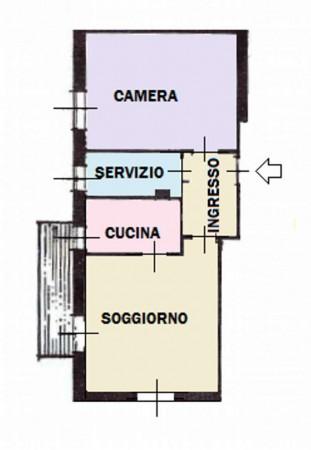 Appartamento in vendita a Monza, San Giuseppe, Con giardino, 65 mq - Foto 2
