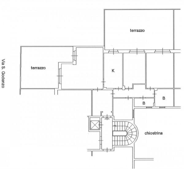 Appartamento in vendita a Roma, San Godenzo, 121 mq - Foto 2