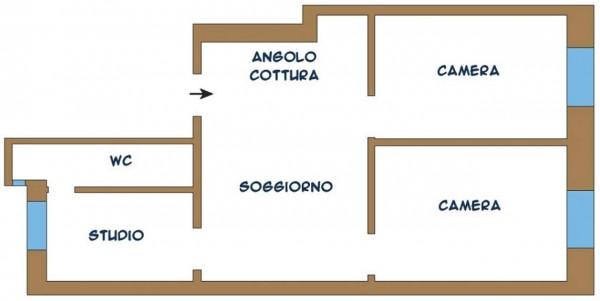 Appartamento in vendita a Chiavari, Centro Storico, 75 mq - Foto 2
