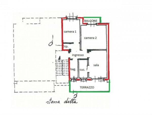 Appartamento in vendita a Cafasse, Con giardino, 80 mq - Foto 2