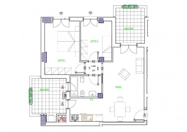 Appartamento in vendita a Roma, 70 mq - Foto 2