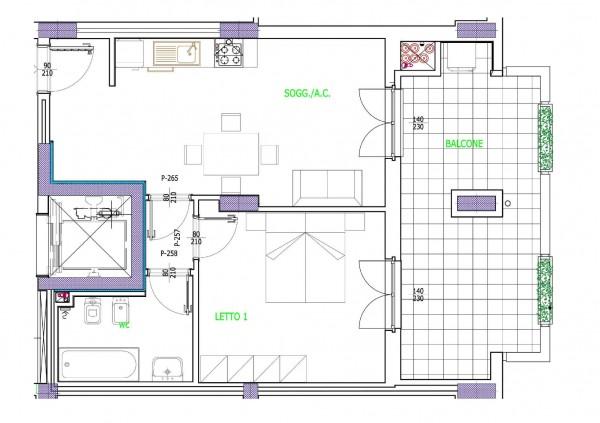Appartamento in vendita a Roma, 53 mq - Foto 2
