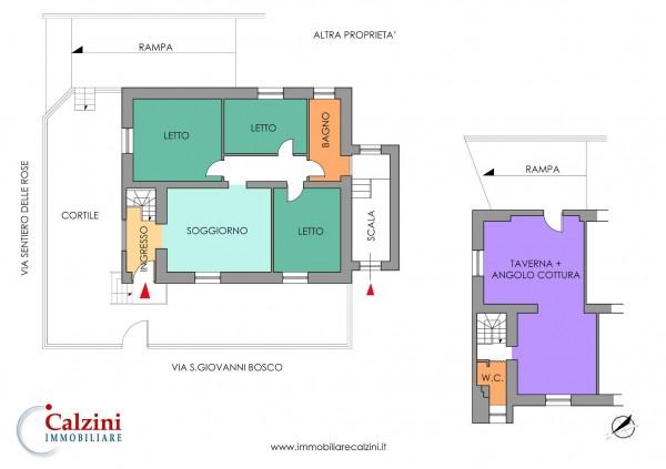 Appartamento in vendita a Grottaferrata, Con giardino, 150 mq - Foto 2