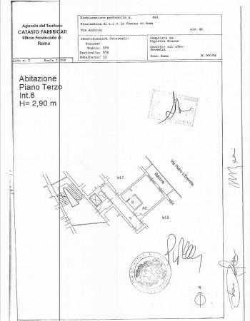 Appartamento in vendita a Roma, Piazza Bologna, Con giardino, 42 mq - Foto 5