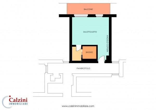 Appartamento in vendita a Roma, Piazza Bologna, Con giardino, 42 mq - Foto 2